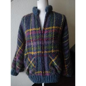 Tapestries Ireland Vintage Multicolor Wool Jacket